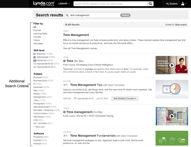Lynda search results label.PNG